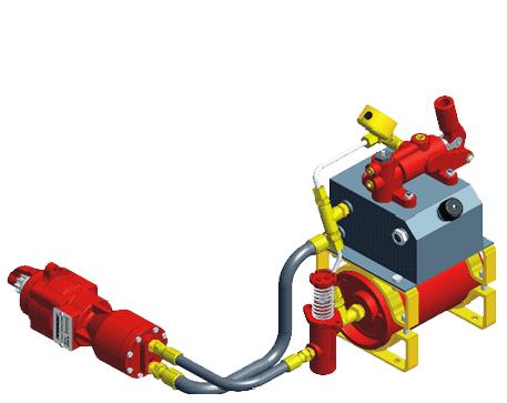 Hydraulic Starting System